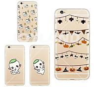 maycari®mini hu ba tpu transparent de cas pour iphone 6 // 6s iphone (couleurs assorties)