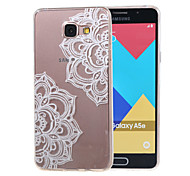 Hollow Flower New Soft TPU Back Case Cover For Samsung Galaxy A3 (2016) A310 A310F/A5(2016) A510 A510F-9