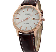 Men's Watch Business Casual Belt Quartz Watch