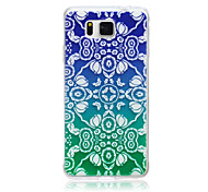 Gradient Flowers Pattern TPU Material Phone Case for Samsung Galaxy G360/G530/G355H/G850F