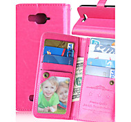 KARZEA™Solid PU Leather Case with Card Holder and Stand for Alcatel C7(Assorted Colors)