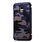 Für Samsung Galaxy Note Stoßresistent Hülle Rückseitenabdeckung Hülle Tarnfarben PC Samsung Note 5 / Note 4