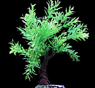 Simulation Rubber Waterweeds Ornament Decoration for Aquarium