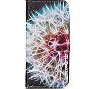 Dandelion Painted PU Phone Case for iphone SE