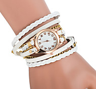 Women's Bracelet Watch The New Ms. Retro Fashion Female Form Bracelet Watch Chains Three Times (Assorted Colors)