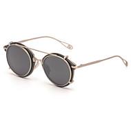 Sunglasses Men / Women's Modern / Fashion Round Black / Blue / Leopard / Transparent Sunglasses Full-Rim