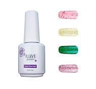 ILuve Gel Nail Polish Set - Pack Of 4 - Long Lasting 3 Weeks Soak Off UV Led Gel Varnish – For Nail Art #4039