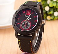 Women's Fashion  Sport Quartz Watch Rubber Band Cool Watches Unique Watches