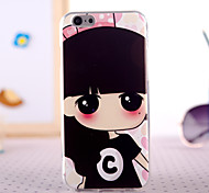 Girl With Big Eyes Design Back Cover Case for IPhone 6 Iphone6S