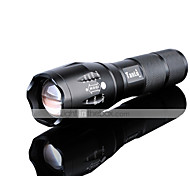 Lights LED Flashlights/Torch LED 1200 lumens Lumens 5 Mode Cree XM-L2 18650 / AAAAdjustable Focus / Rechargeable / Impact Resistant /