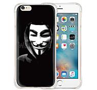 v caso vendtta morbida trasparente indietro silicone per iPhone 6 / 6s (colori assortiti)