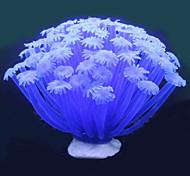 Decoración de Acuario Adornos / Planta Acuática Artificial Plástico