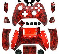 Ersatz-Controller Fall für die Xbox ein Controller (roter Schädel)