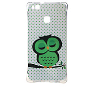Dozing Owl Shockproof as TPU soft shell cover Case for Huawei Ascend P9 lite P9 mini