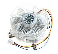 pu dissipateur de chaleur du ventilateur universel hyeonpung 1155 1156 intel ultra-silencieux PC de bureau ventilateur du processeur cpu