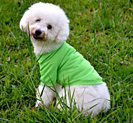 Classic Pure Color Comfortable Pet Clothes