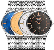 Men's Japanese Quartz Steel Band Water Resistant Dress Watch Cool Watch Unique Watch