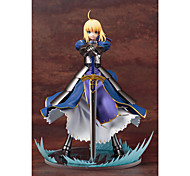 Fate/Stay Night Saber PVC 15x15x23cm Anime Action-Figuren Modell Spielzeug Puppe Spielzeug