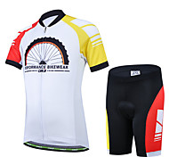 CHEJI Boy Girl Cycling Short Sleeve Clothing Set Children Bicycle Jersey + Short Suit