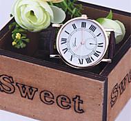 nova moda genebra relógios homens pulseira de couro falso unisex data auto casuais relógios de pulso de quartzo