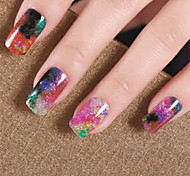 Fashion Harajuku Star Nail Stickers Creative Nail Art For Stickers & Decals High Quality Cute Cartoon Stickers For Nails