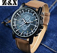 YAZOLE Brand Men's Fashion  Quartz Alloy Night Light Watch(Assorted Colors) Wrist Watch Cool Watch Unique Watch