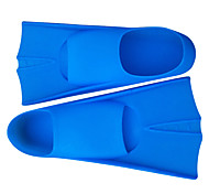 Diving Fins silicone Blue