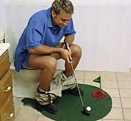 Горшок клюшки положить коврик игры в гольф