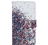 The Sky Star Pattern PU Leather Full Body Case with Stand for Wiko Fever