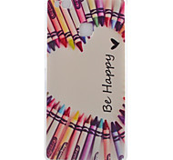 Smile Pattern TPU Phone Case For Huawei Ascend P9 / P9 Lite