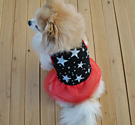 Sweety Comfortable Star Pattern Pet Dress