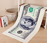 Full Cotton Paper Money Bath Towel