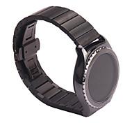 Luxus-Edelstahl-Band-Armbanduhr für Samsung Galaxy S2 Getriebe Zubehör klassisch SM-R732 Uhrenarmband ersetzen