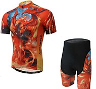 Others Men's Cycling Softshell Jacket Short Sleeve Bike Summer Wicking Red S / M / L / XL / XXL / XXXL Stretchy