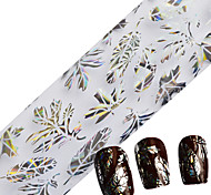 100cmx4cm Nail Art Foils Beauty Maple Leaf Clearly Foils Transfer Adhesive Stickers Decorations Polish Styling Tools