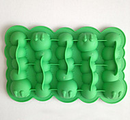 Caterpillars Ice Mould Silicone Ice Cubes Tray Pudding Jelly Mold (Random Color)