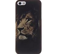 Melancholy Lion Design IMD+TPU Back Cover Case iPhone SE iPhone 5 iPhone 5