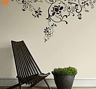 Botanical / Romanticismo / Fashion / Floreale / Astratto Adesivi murali Adesivi aereo da parete,PVC S:30*55cm / M:56*107cm / L:75*140cm