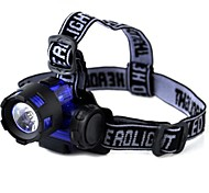 Lights Headlamp Straps LED 300 Lumens 1 Mode - AAA Small SizeCamping/Hiking/Caving / Everyday Use / Cycling/Bike / Hunting / Fishing /