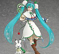 Vocaloid Hatsune Miku 13CM Figure Anime Azione Giocattoli di modello Doll Toy
