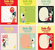 5PCS Love Little Red Riding Hood The Girl N Time Post Post-It Notes Post-It Note Pad(Style random)