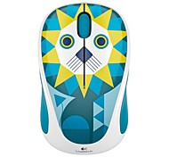 Original Logitech M238 Play Collection Cute Animal Series USB 2.4G Wireless Optical Mouse for Desktop Laptop Computer