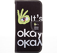 OK Letter PU leather with Stand Case for Samsung G360