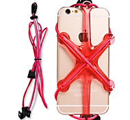 New Fashion Outdoor Sport Mobile phone Security Rope For Samsung Galaxy  S7/S7 edge/S6/S5/S4/S3(Assorted Colors,Rope)