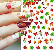 Nail Art Water Transfer Flower/Cartoon/Lips Design Nail Sticker Decals DIY Foils Manicure Tips Decorations