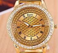 Men's Fashionable Watch  Gold Steel Band Wrist Watch Cool Watch Unique Watch