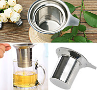 Stainless Steel Mesh Cup Durable Reusable Strainer Herbal Locking Tea Filter Infuser