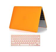 """2 em 1 fosco plástico rígido caso de corpo inteiro com tampa do teclado para MacBook Pro com retina 13 """"/ 15"""" (cores sortidas)"""