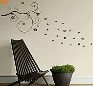 Romanticismo / Fashion / Floreale Adesivi murali Adesivi aereo da parete,PVC S:47*95cm / M:97*199cm/ L:129*262cm