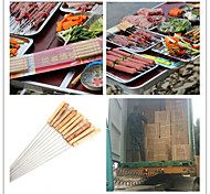 Hot Hot Roast Needle Special Offer Wooden Handle Barbecue Barbecue Tools Steel Sign Sign Sign